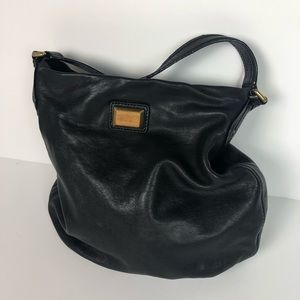 Marc by Marc Jacobs black lamb leather purse